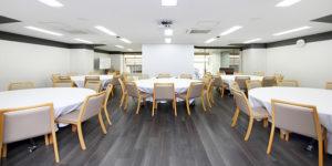JEC日本研修センター神戸元町 会議室・レンタルスペース会議室 中会議室(バンケットルーム)の画像