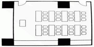 神戸市産業振興センター 貸し会議室 会議室・レンタルスペース会議室 会議室906の画像